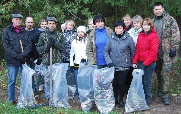 Каля 200 чалавек далучыліся на Чэрвеньшчыне да рэспубліканскай акцыі «Чысты лес»