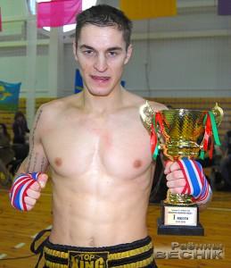 Пераможца турніру Дзмітрый Трапашка (Чэрвень)