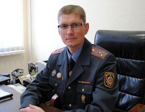 Начальнику Червенского РОВД присвоено звание полковника