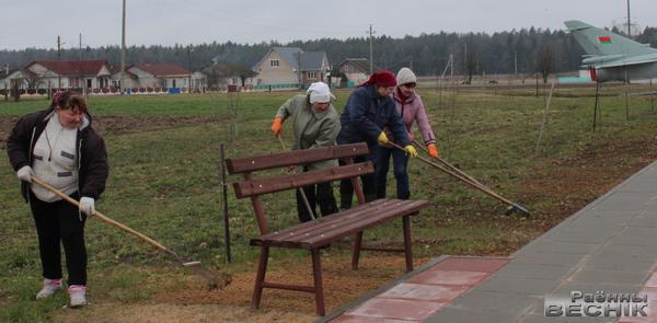 Першага красавіка на Чэрвеньшчыне прайшоў раённы суботнік