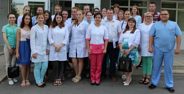 29 молодых специалиалистов пополнили коллектив Червенской больницы
