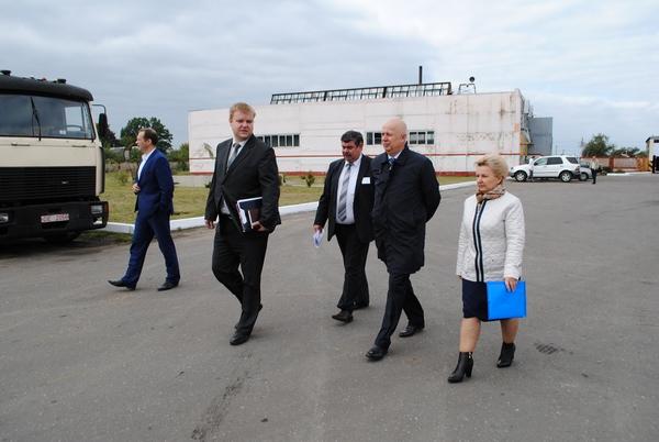 Министр транспорта и коммуникаций посетил Червенский автопарк