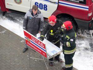 Спасатели провели учения в индустриальном парке
