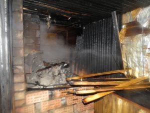 В Смиловичах горела баня, в Клинке – жилой дом