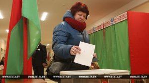 Почти 35% избирателей проголосовали досрочно на местных выборах в Беларуси