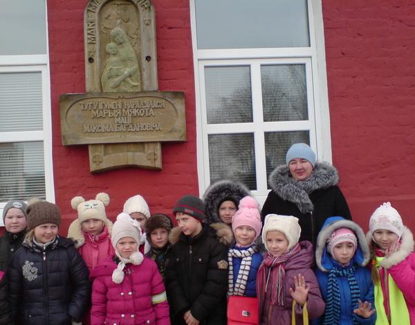 Посетили краеведческий музей
