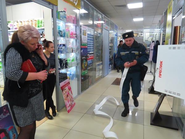 Внеплановая проверка МЧС — в магазине «Трио»