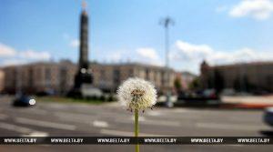 Теплая летняя погода установится в Беларуси в начале следующей недели