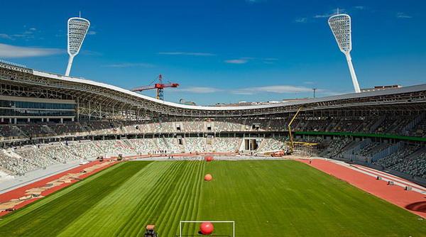 Минский стадион «Динамо» примет первые официальные соревнования 22 июня