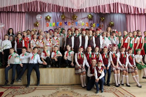 Конкурс піянерскіх брыгад на Чэрвеньшчыне