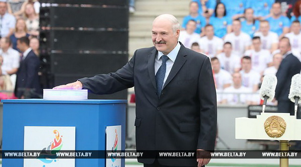 Лукашенко запустил обратный отсчет времени до открытия II Европейских игр