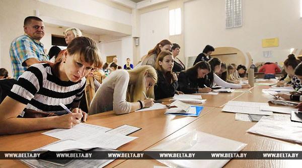 В Беларуси стартует централизованное тестирование