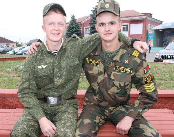 В армии нашёл друга