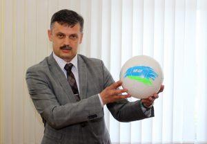 Белорусские участники международной детской социальной программы «Футбол для дружбы» накануне отъезда в г.Москву встретились с Министром спорта и туризма