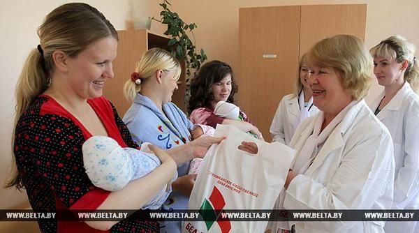 Родившие в День Независимости мамы получат подарки от «Белой Руси» 5 июля