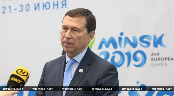 Катулин: мнения шефов миссий команд будут учтены при подготовке к Европейским играм в Минске